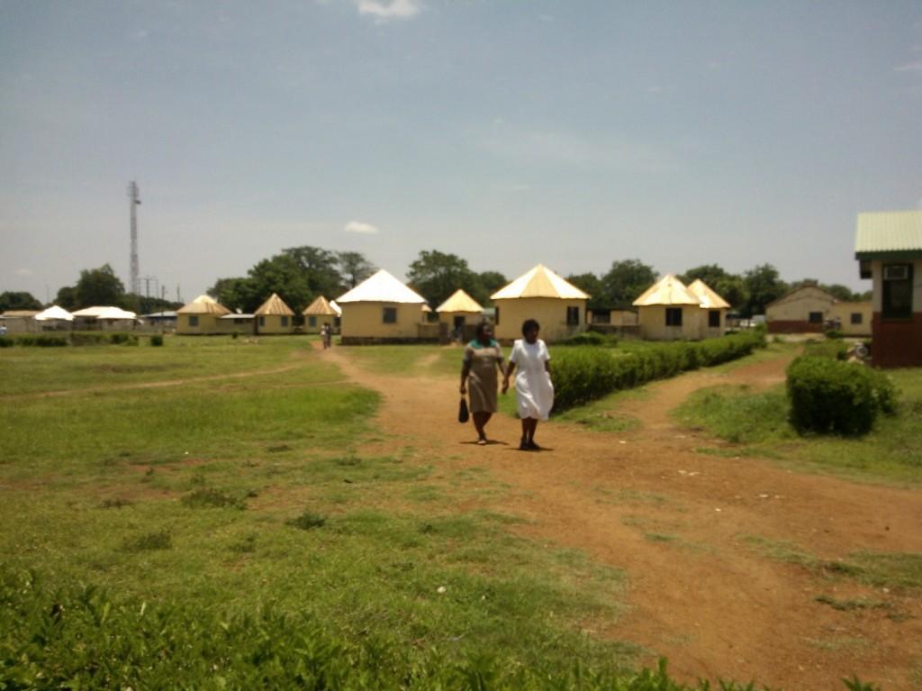 Women at the Wa Regional Hospita