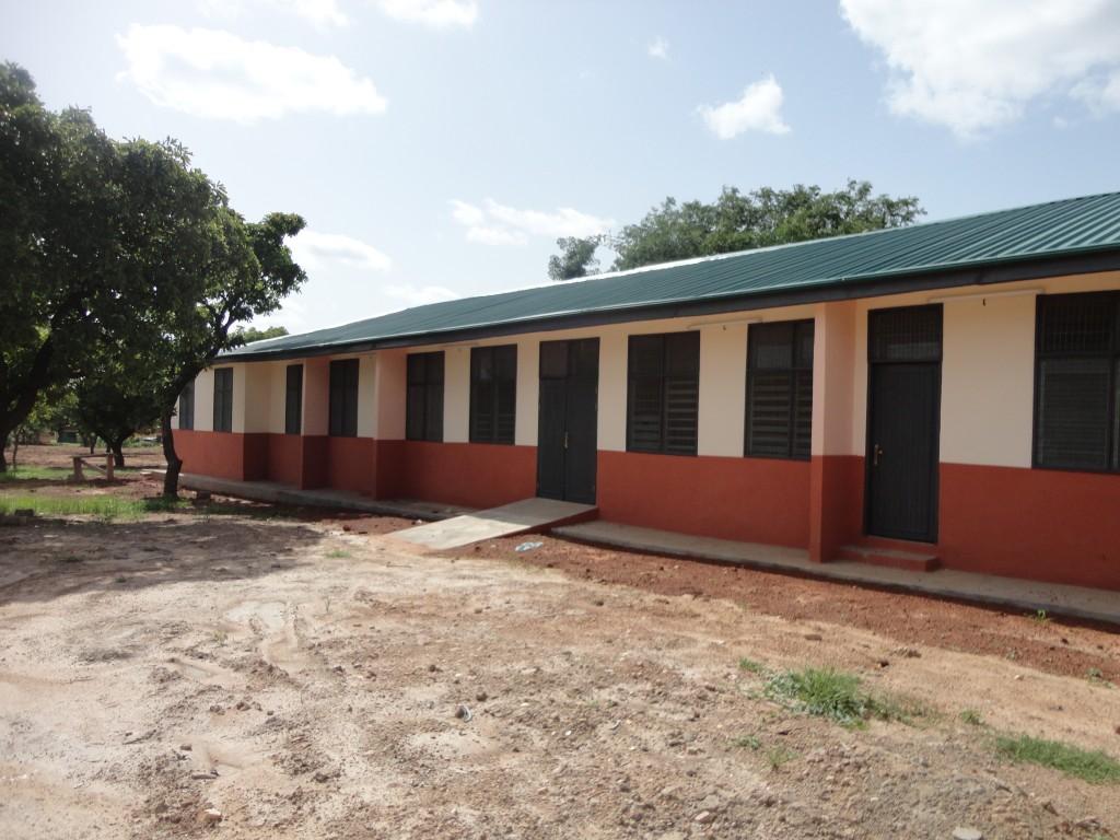 The new Children's Ward at Nadowli District Hospital