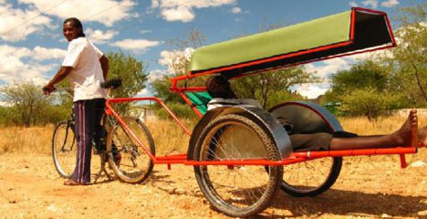Bicycle Ambulance: an Example of Technology Specific to Conditions of Developing Countries
