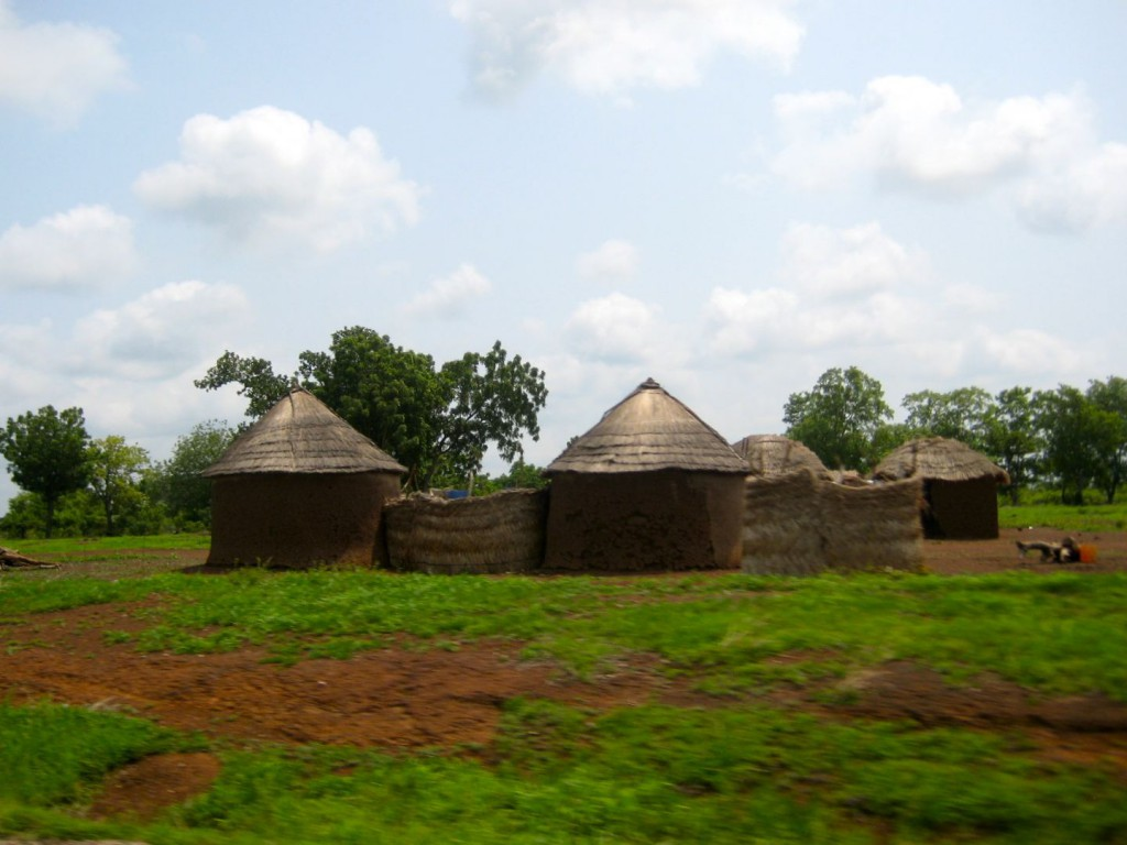 Houses in the Upper West Region