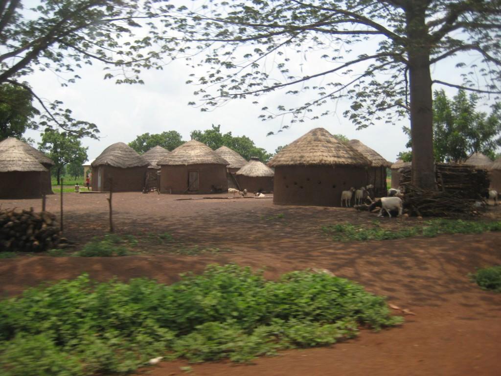 Village Along the Road to Karaga