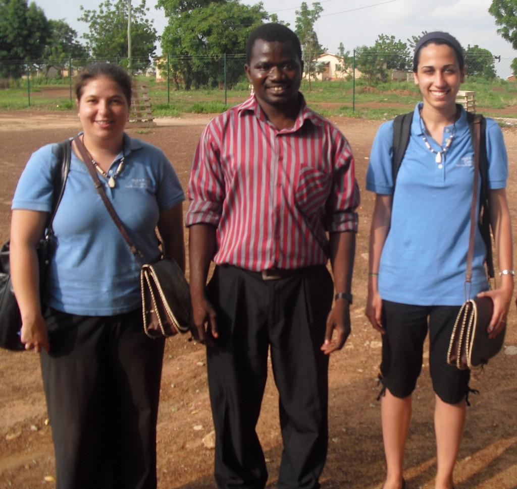 Emma, Dr. Abraham and Sonya