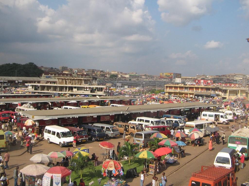 Kejetia - Transport Hub in Kumasi
