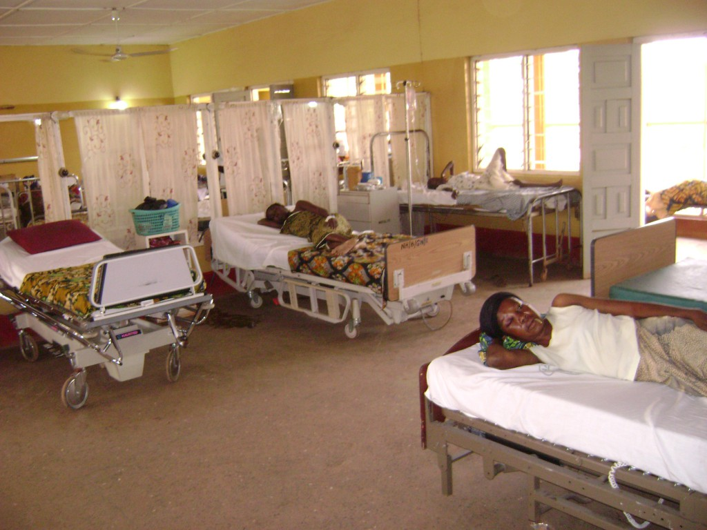 Donated Beds in Adult Ward