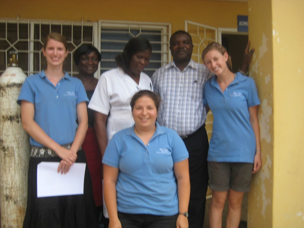 MedPLUS Connect Board Members with Partners in Ghana