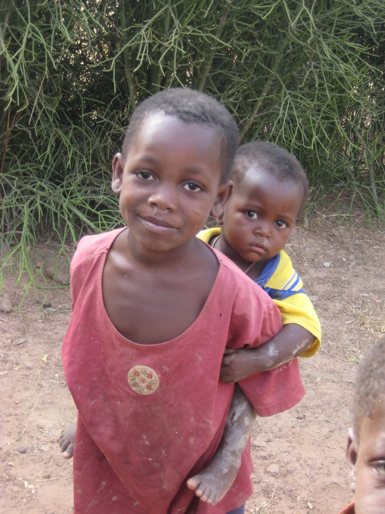 Children in Lawra, Ghana