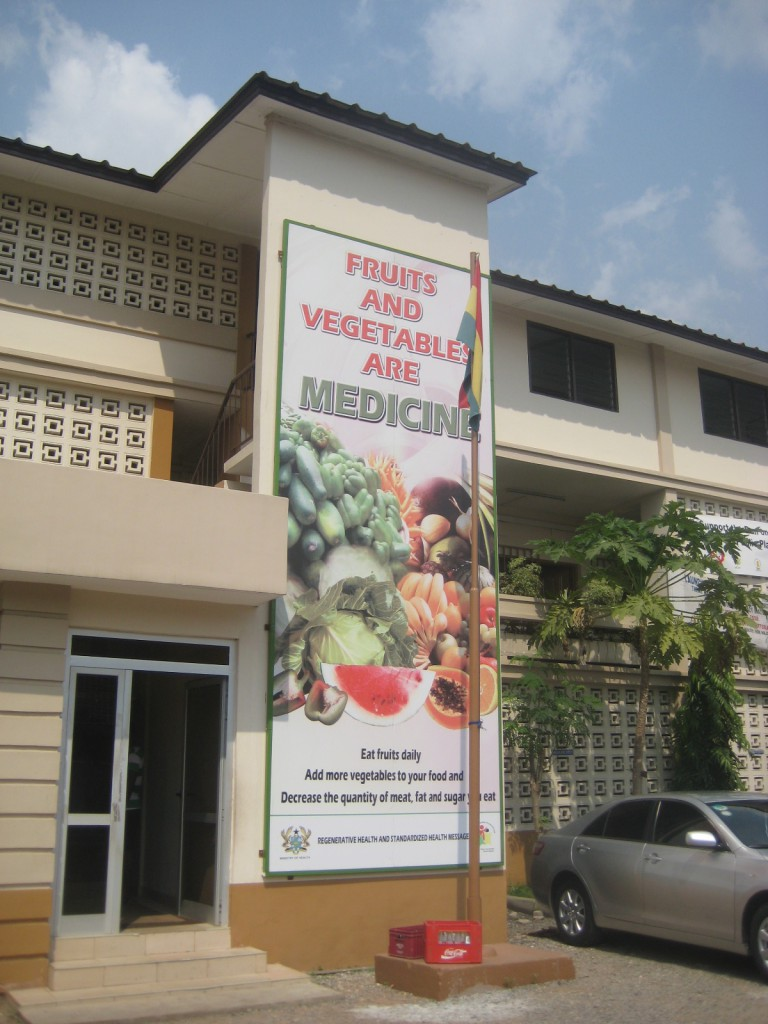 Poster on Nutrition Outside MOH