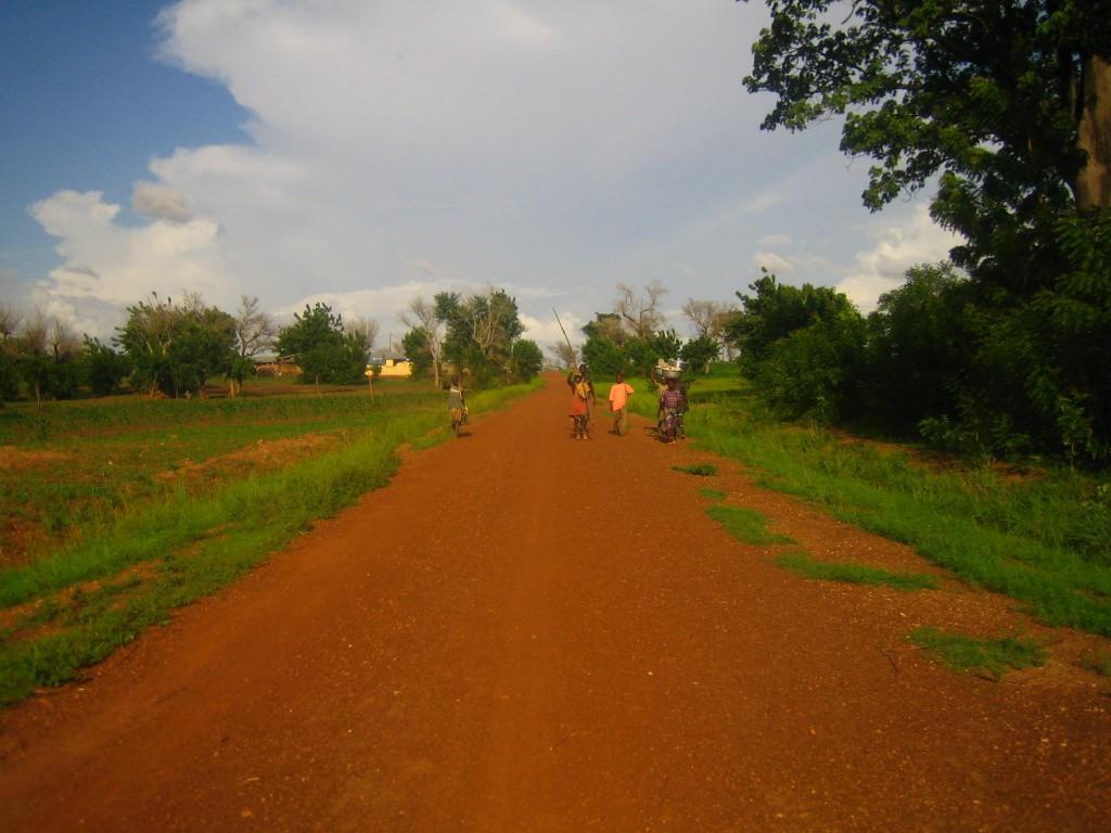 Roads Connecting Rural Communities in Northern Ghana