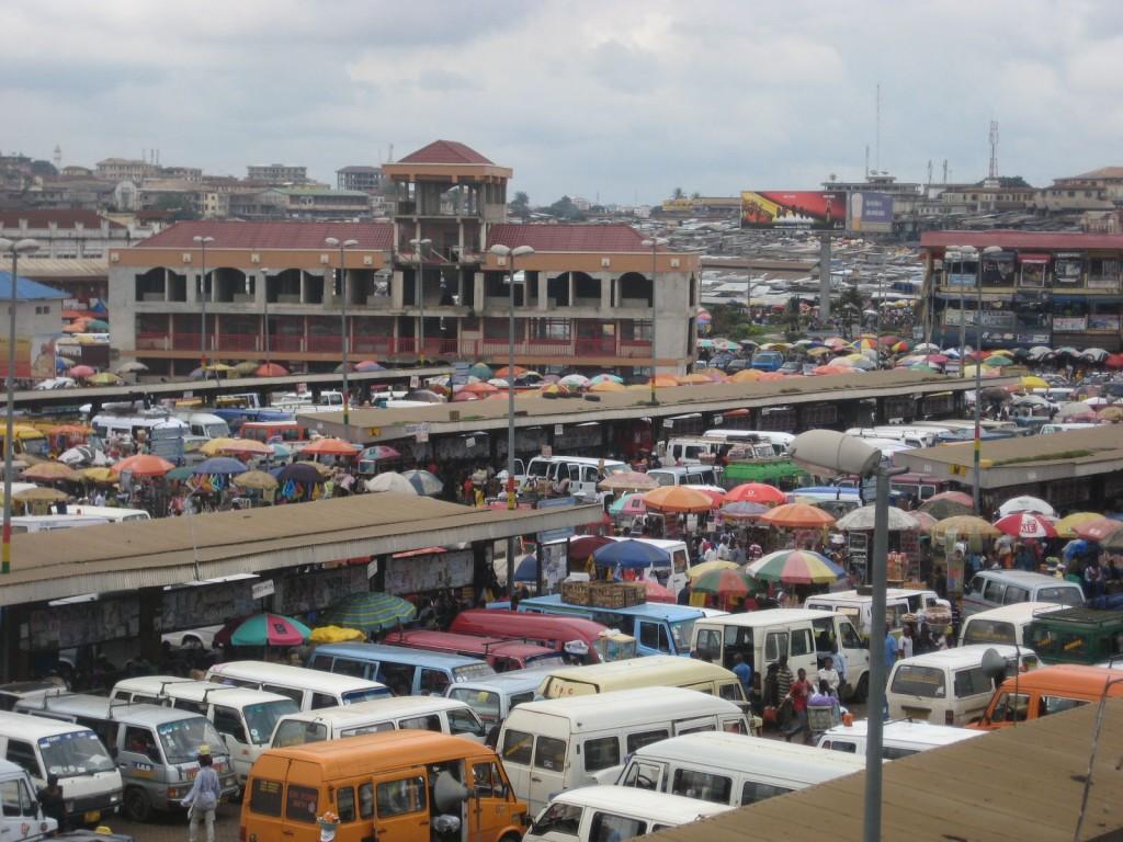 Transport Hub in Kumasi, Ghana's Second Largest City