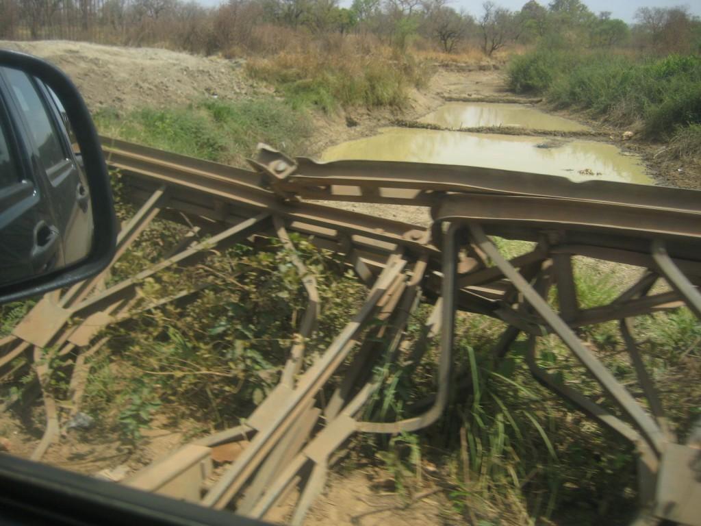 Broken Bridge...Hope it Gets Fixed by Rainy Season!