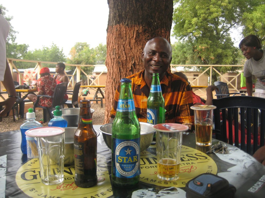 Out for Drinks in Bolgatanga