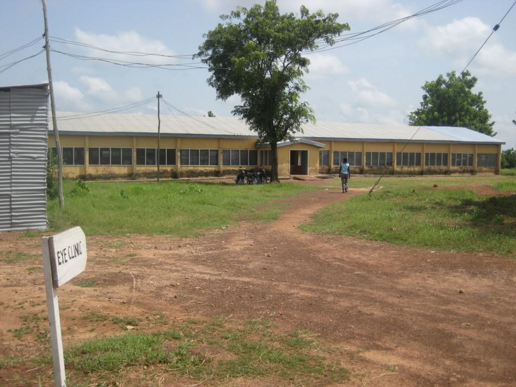 Nandom District Hospital, Site of Next Shipment