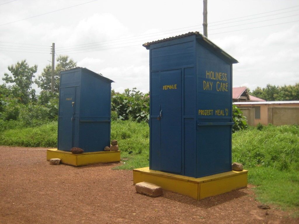 Pit Latrines Project in Lawra