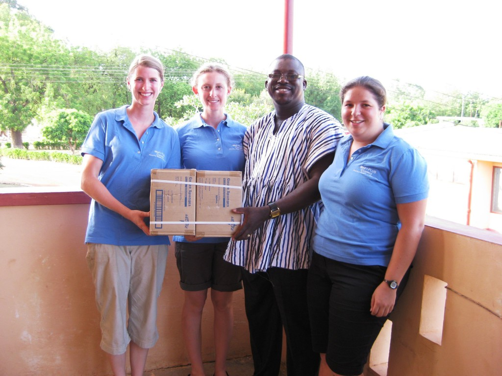 Boxes of Supplies at MedWish International
