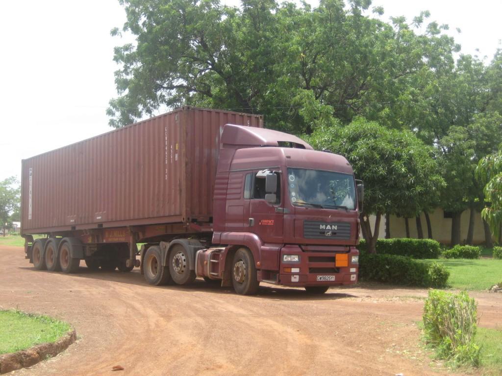 Medical Supplies Arriving in Northern Ghana