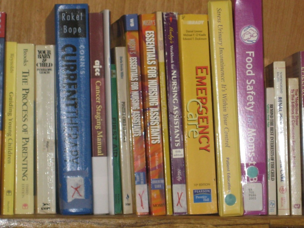Donated Medical Books