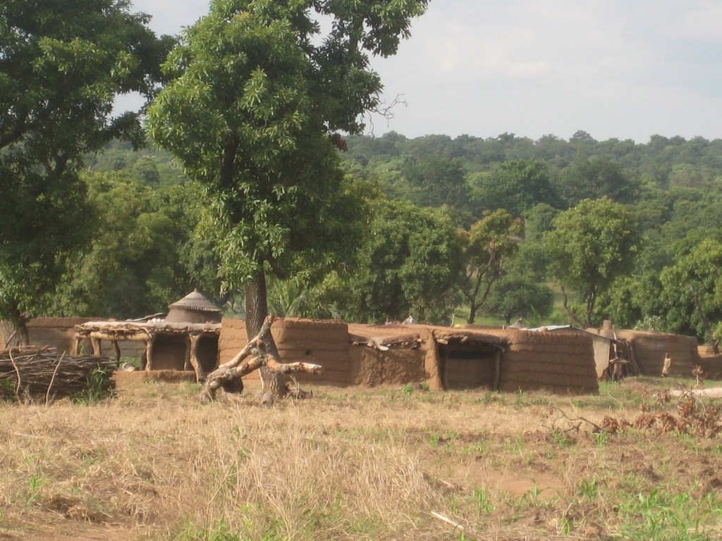 Village We Passed in Northern Ghana