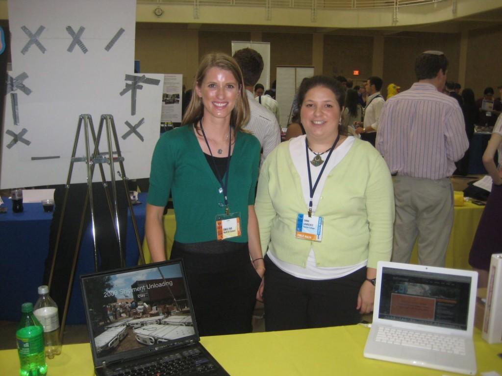 Emily And I At The Clinton Global Initiative University Conference In April, 2010
