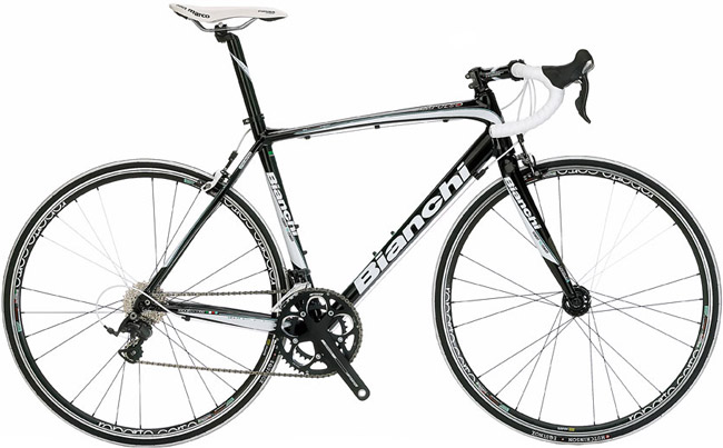 Bianchi Impulso Ultegra - Sale Price $1,399.99 (Regular Price $1,599.99)Aluminum frame, carbon fork, Shimano Ultegra 2 x 10 speed shifting.Available Sizes: 53cm