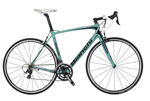 Bianchi Intenso Ultegra - Sale Price $2,499.99 (Regular Price $2,699.99)Carbon frame and fork, Shimano Ultegra 2 x 11 speed shifting.Available Sizes: 57cm