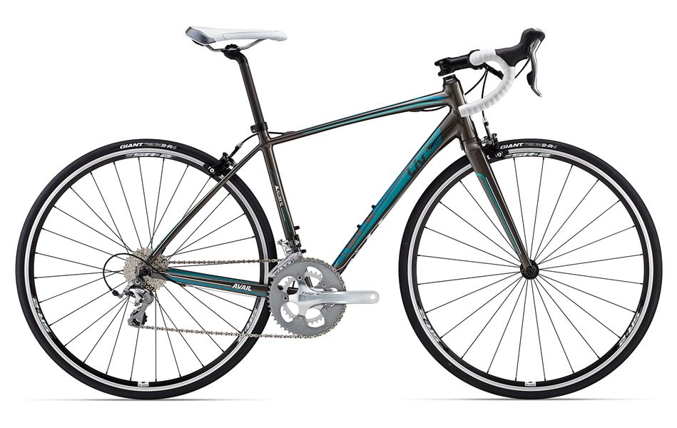 Liv Avail 2 - Sale Price $949.99 (Regular Price $1,150.00)ALUXX-SL aluminum frame, carbon fork, Shimano Tiagra 2 x 10 speed shifting, Tektro R312 caliper brakes, includes cross-top brake levers.Sizes Available: Small