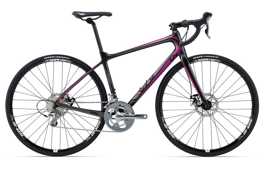 Liv Avail Advanced 2 - Sale Price $1,599.99 (Regular Price $1,750.00)Advanced grade carbon frame and fork, Shimano Tiagra 2 x 10 speed shifting, TRP Spyre mechanical disc brakes, Giant SR-2 disc wheels.Available Sizes: Medium