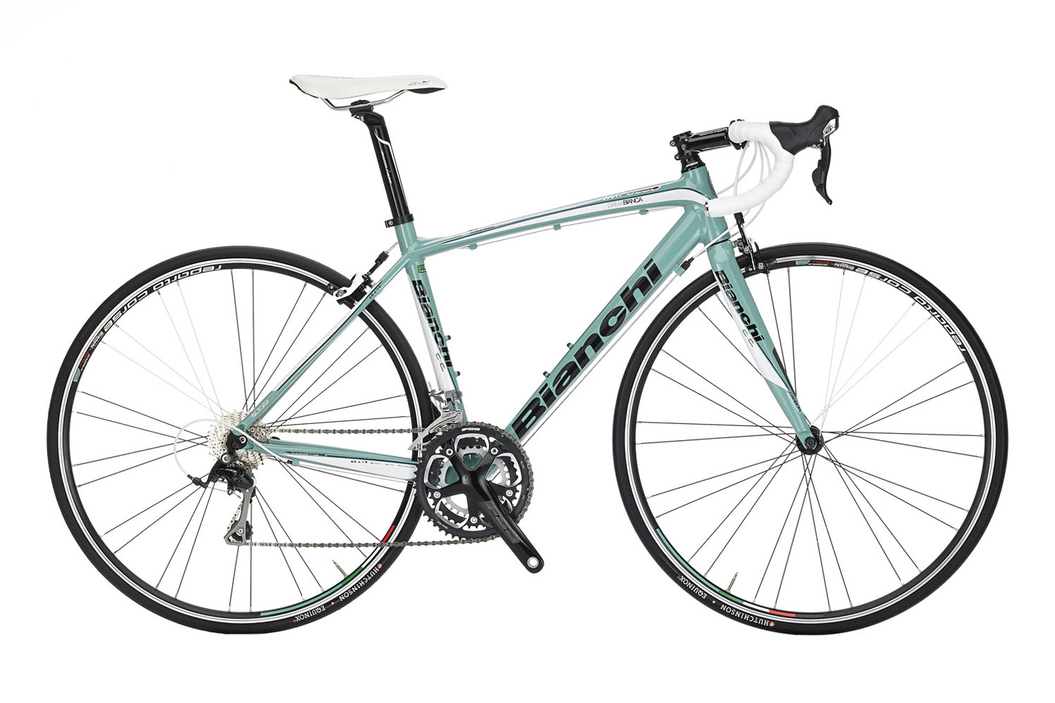 Bianchi Impulso Dama 105 - Sale Price $1,299.99 (Regular Price $1,499.99)Impulso Triple-hydroformed aluminum frame, carbon fork, Shimano 2 x 10 speed shifting, Reparto Corse caliper brakes.Available Sizes: 46cm