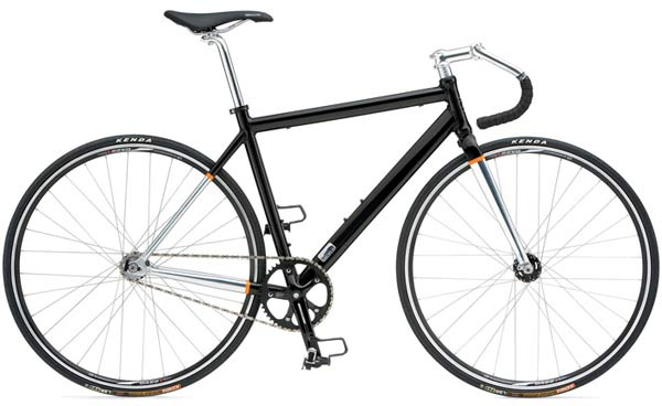 Giant Bowery - Sale Price $449.99 (Regular Price $600.00)Aluminum frame and fork, single speed drivetrain, flip/flop rear hubs allows use as a single speed freewheel or a fixed cog.Sizes Available: Small