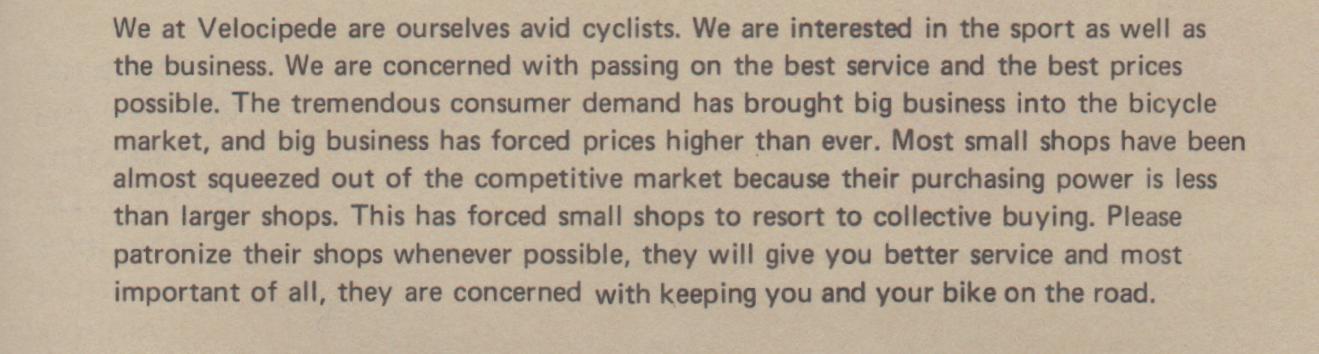 1972 Mail Order Catalog Excerpt