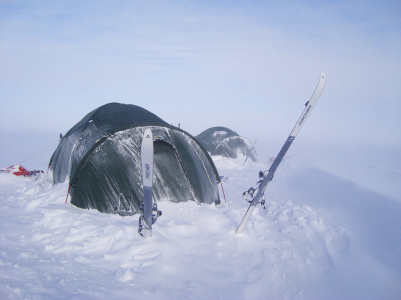Harold Pinchbeck watches on the Polar challenge.jpg