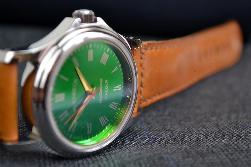 Green dial Harold Pinchbeck Christopher