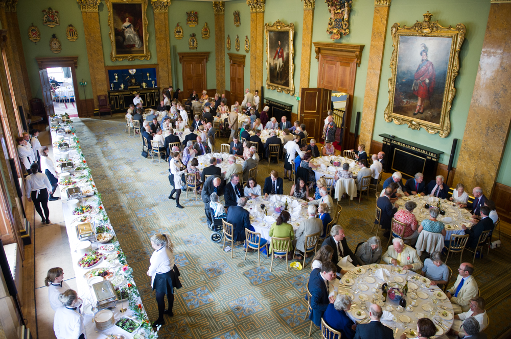 The after-race celebration dinner in Fishmongers Banqueting Hall.