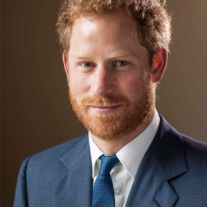 The Royal Guest of Honour – HRH Prince Henry of Wales