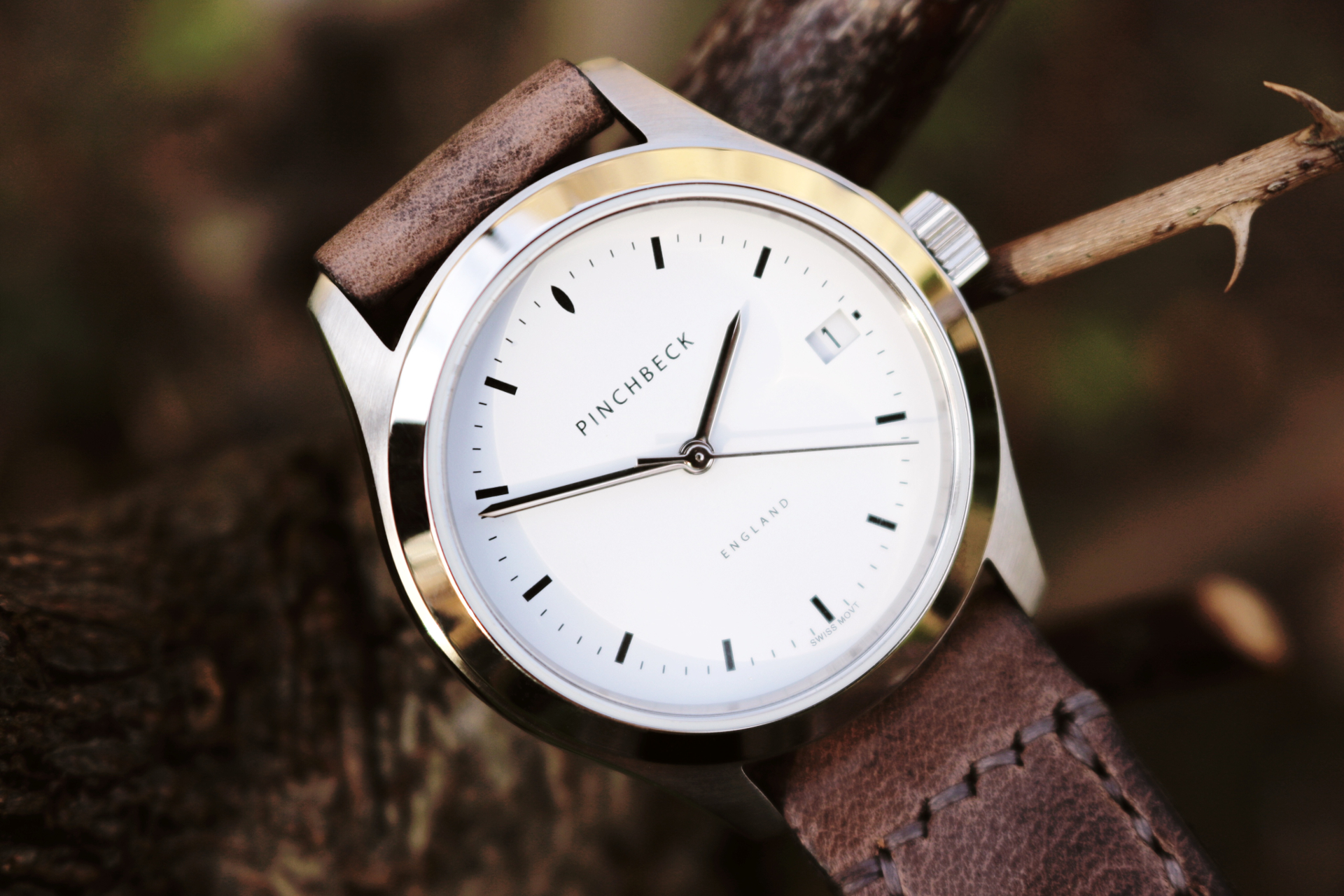Florence with Tanner Bates Mink coloured strap