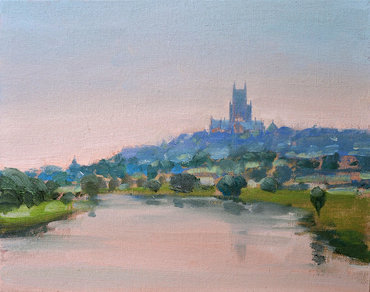 'Lincoln from the East' by Dominic Parczuk