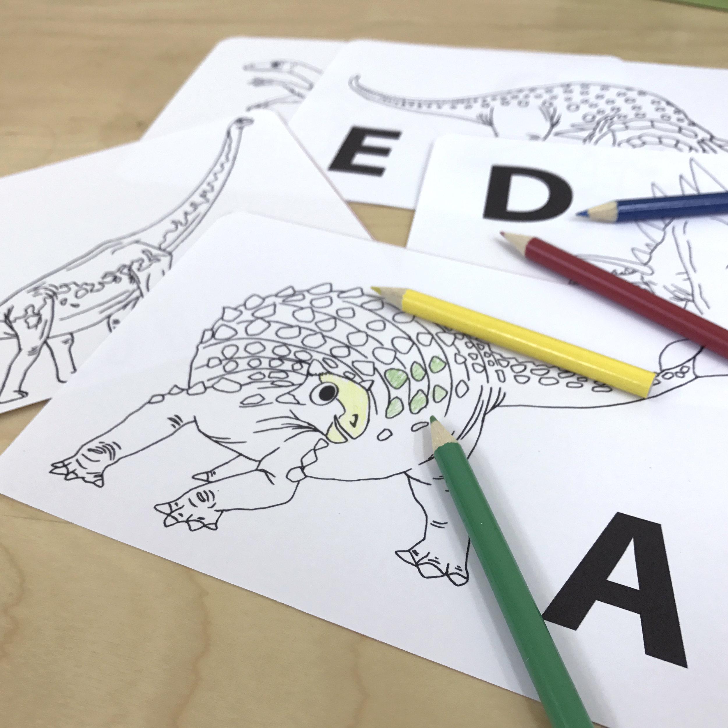 [Colouring activities can enhance children's creativity]
