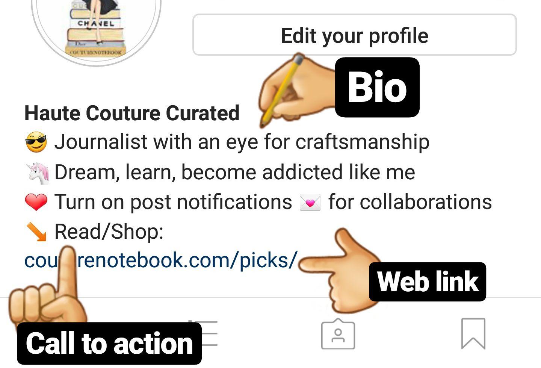 Instagram couturenotebook