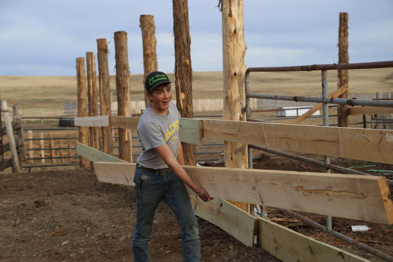 build a barn -