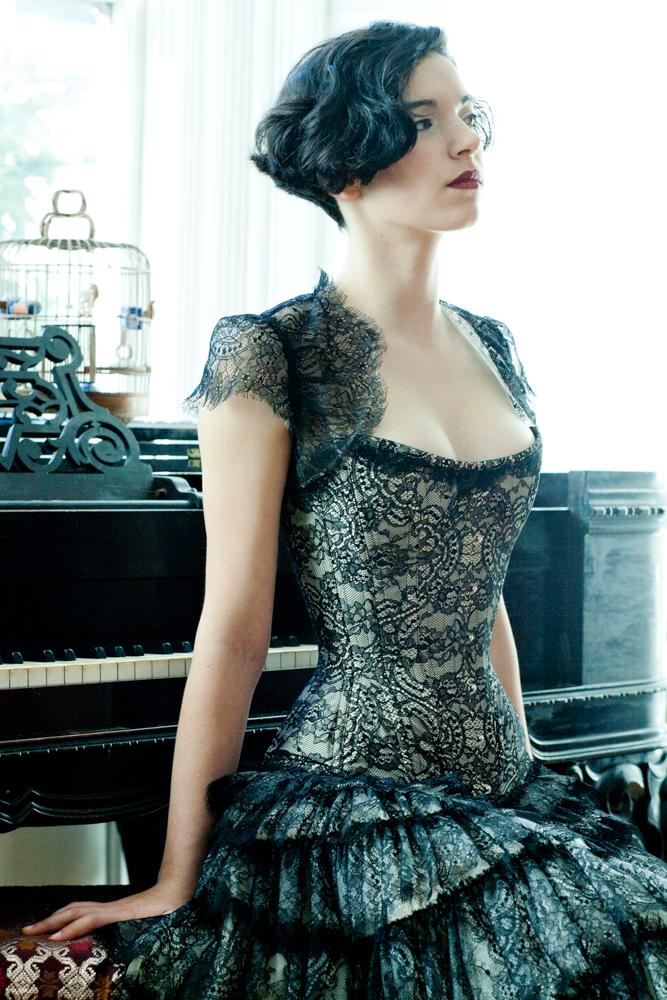 004.marianneSelects_joelaron.com Dark Garden Unique Corsetry Couture Nouveau Woman in Black Joel Aron.jpg