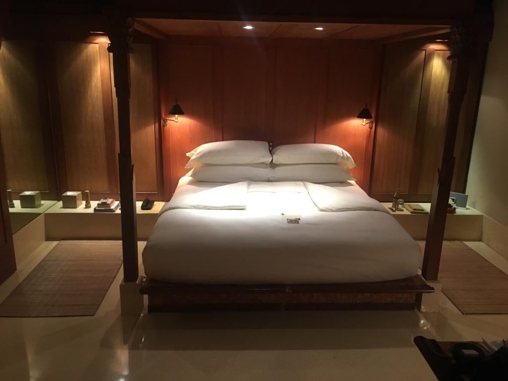 睡前的房務整理是最多程序的