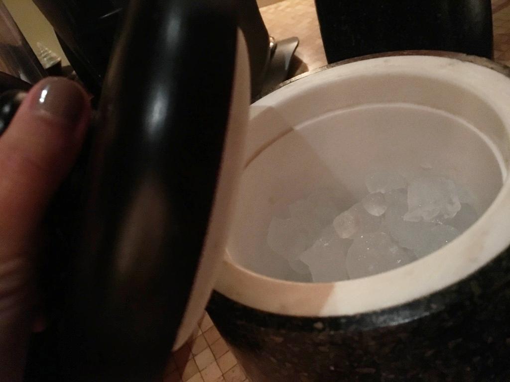 保持冰塊在最佳狀態