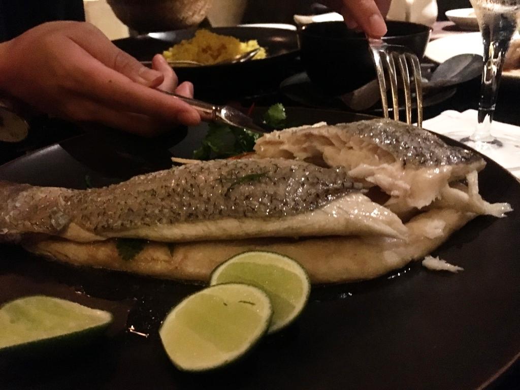 去除魚刺的魚