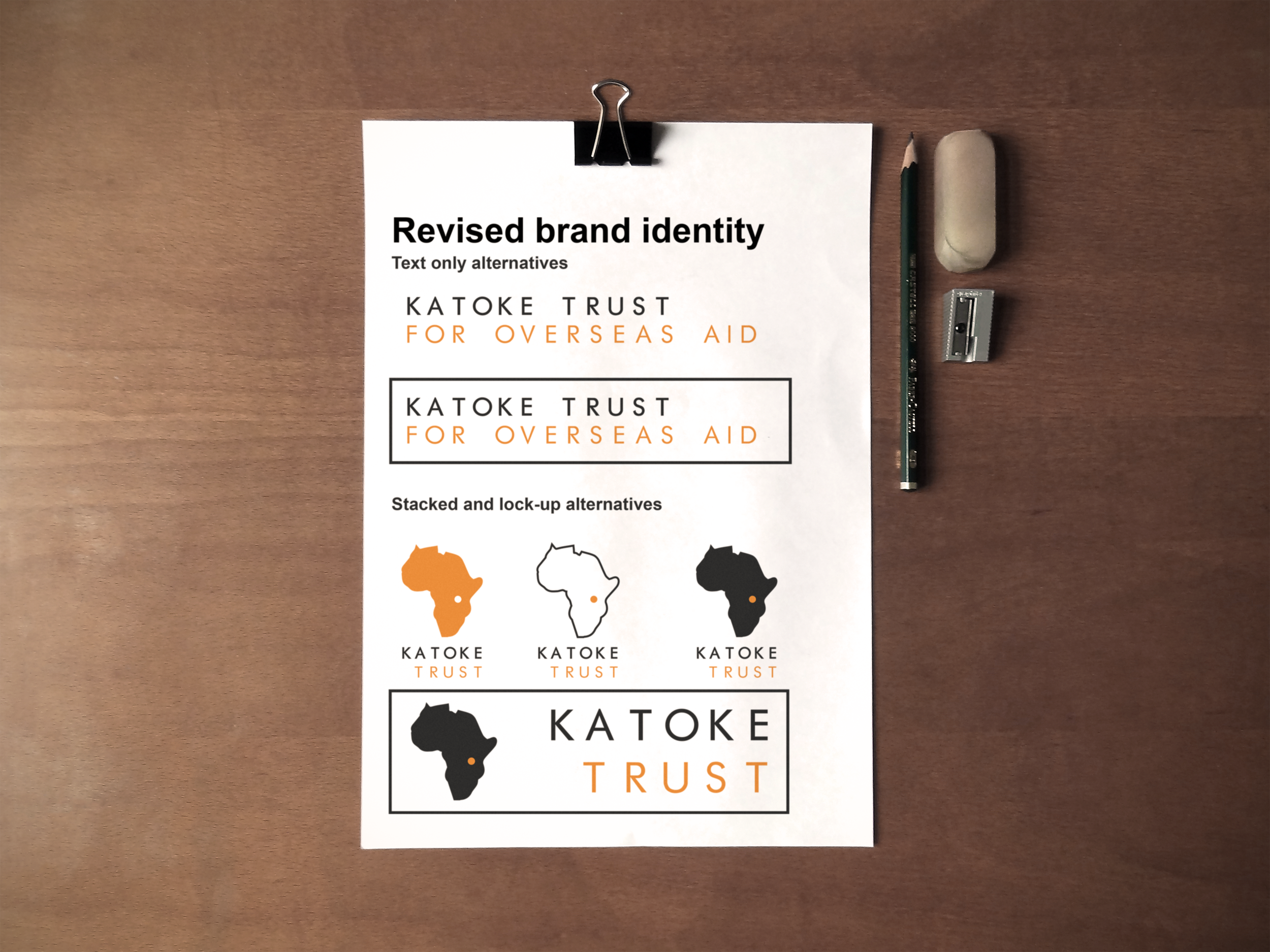 KATOKE TRUST - In 2018, we travelled to regional Tanzania and lived on-site at the Katoke Lweru the Katoke Lweru Secondary School which opened in April 2009. There are some 485 students from Forms 1-6 boarding at the school, 27+ teachers, administration, library and boarding staff. What we did:Personal interviews with students and staffObservational studiesPolicy writingBlog, photographic and film contentBrand refreshWebsite rebuild and UX strategyCommunications strategyMentoring