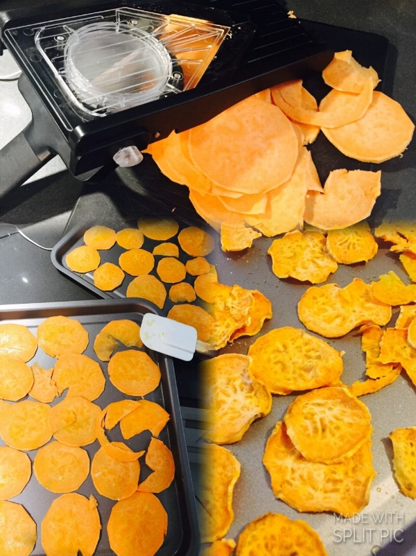 -Sweet Potato Chips-