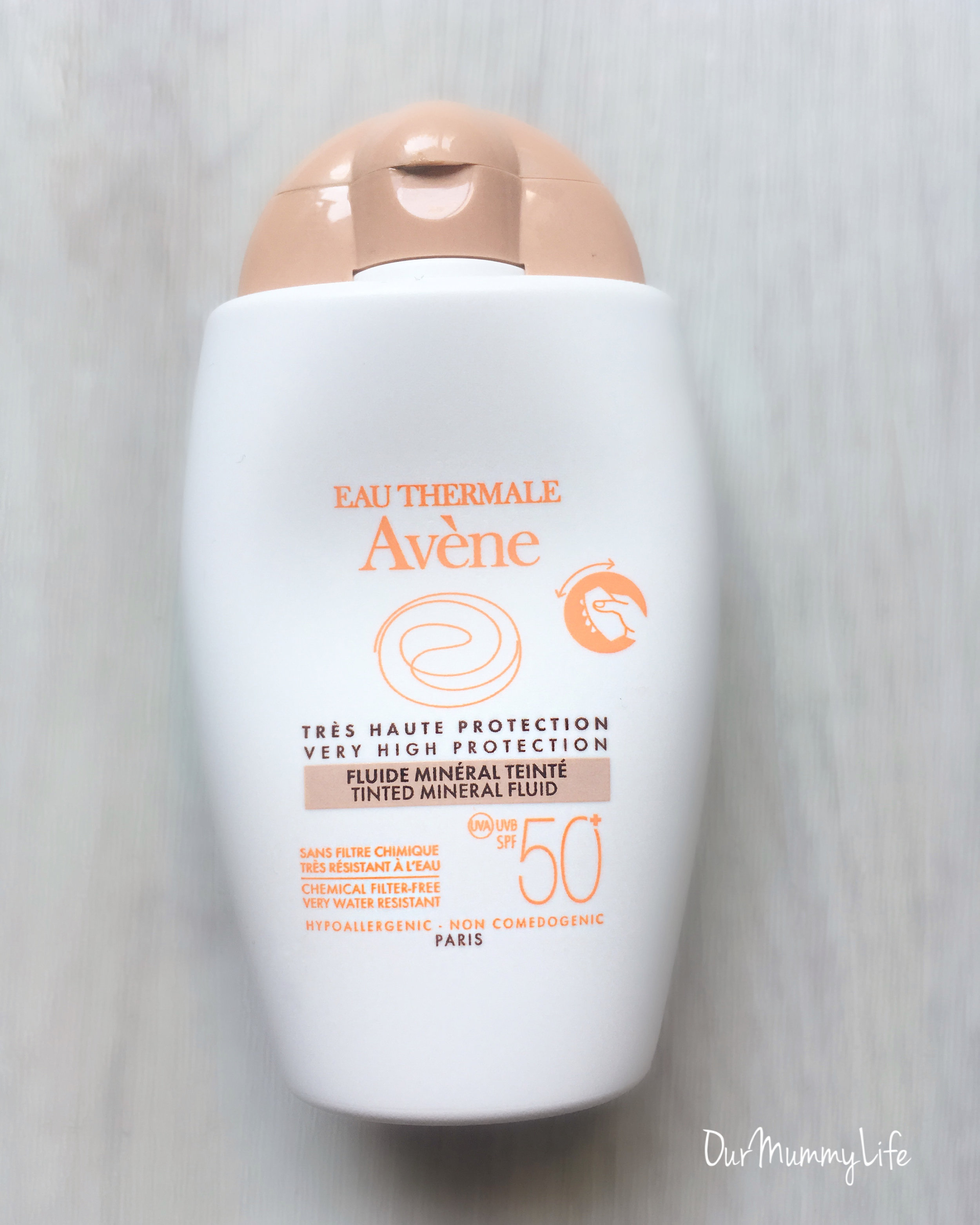 I Love this tinted mineral fluid for my face. This sunscreen is great for using alone or under makeup. This is the first mineral sunscreen that does not leave my face greasy or with a white cast.