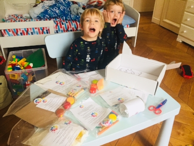 My boys Eli (4.5) & Lucas (3)