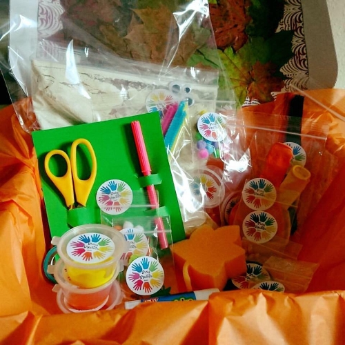 Example of the October Autumn Box