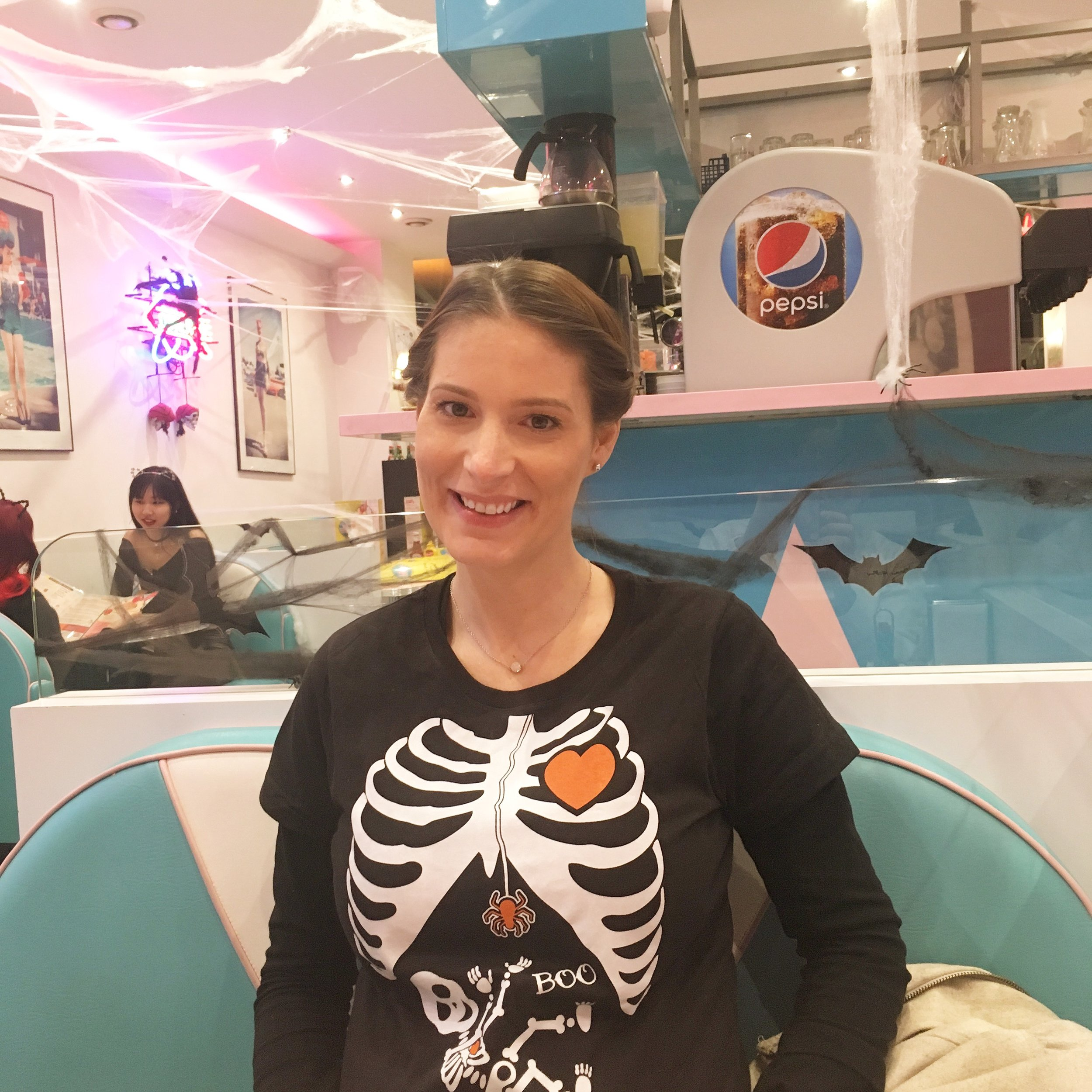 Halloween 2017 at Happy Days Dinner