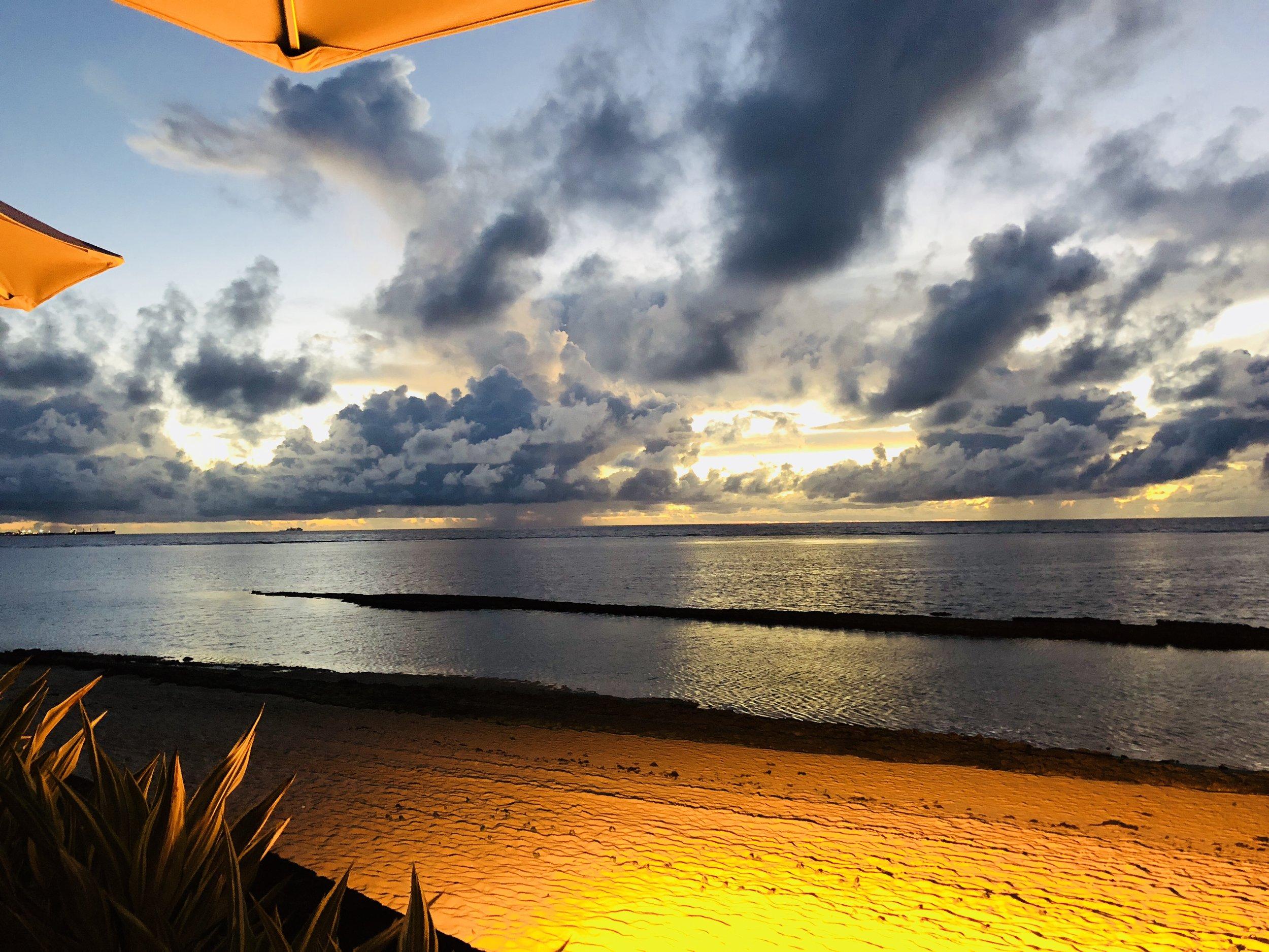 Breathtaking sunsets at La Casa resturant