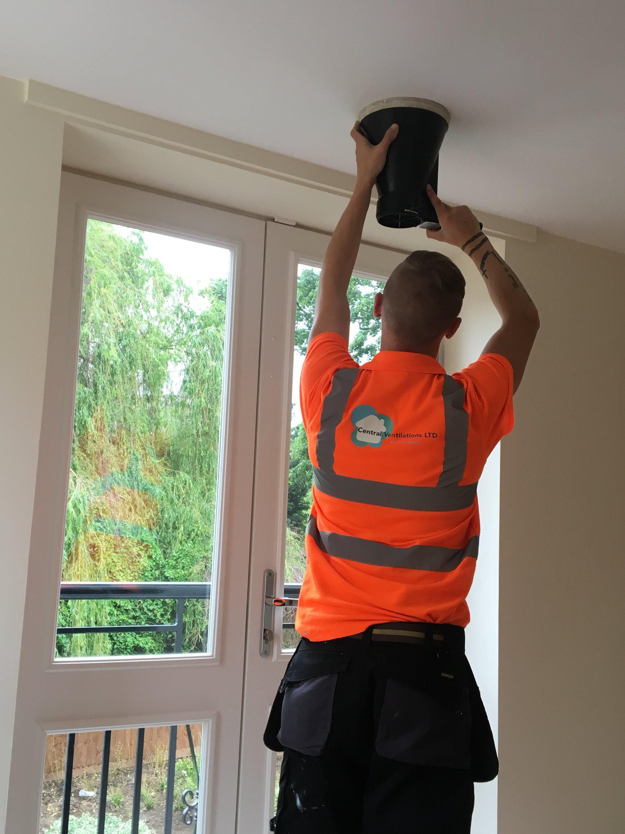 ventilation servicing/installation image